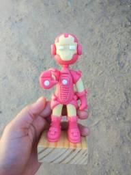 Boneco biscuit Homem de Ferro