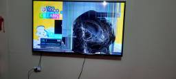 TV 49 tela quebrada aceito propostas