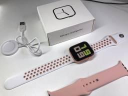 Smartwatch Padrão Apple iwo Max 2.0, faz e recebe ligações, Poucas unidades aproveitem.