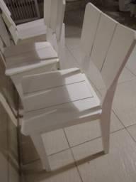Cadeiras oppa branca