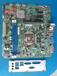 Placa mãe Lenovo DDR3 socket LGA 1155  *LEIA*