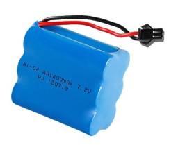 Bateria recarregável do ni-cd 7.2 v 1400 mah