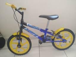 Bicicleta infantil aro 16 - hotwheels