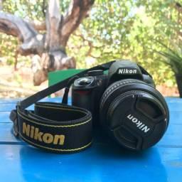 Vende-se câmera nikon d3100