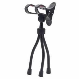 Tripé selfie flexi pod para smartphone, flexível - preto