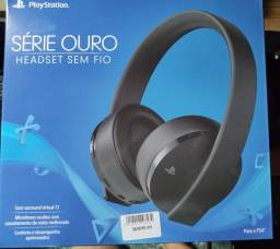 Headset Gamer Sony 7.1 - Série Ouro PC, PS4 e PS4 VR
