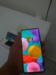 Samsung A51 4meses de uso com nota
