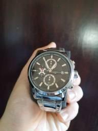Relógio Importado em Aço - PROMOÇÃO -
