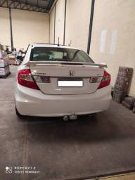 Vendo Honda Civic 12/12 EXS 1.8 16v Branco TOP da Categoria
