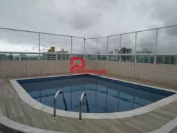 Apartamento para alugar com 3 dormitórios em Ocian, Praia grande cod:1293