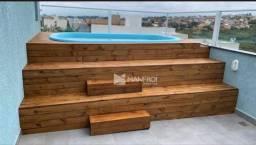 cobertura com 2 dormitórios à venda por R$ 320.000 - Jardim Algarve - Alvorada/RS