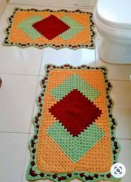 Vendo jogo de tapete pra quarto ou cozinha