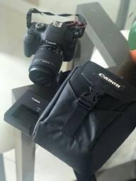 Câmera Fotográfica Profissional Cânon T5 em perfeito estado