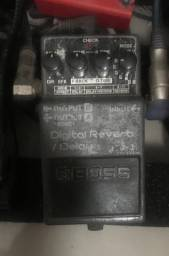 Pedal reverb + delay