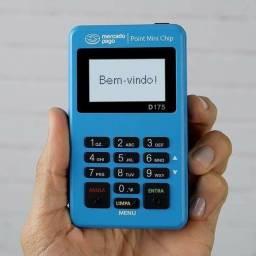 Máquininha de cartão Point Mini chip do mercado pago