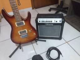 Guitarra Ibanez + brindes
