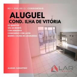 Alugo apartamento 2 quartos com modulados - Colina de Laranjeiras