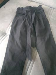 Calça cintura alta Tam P