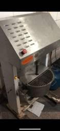Máquina industrial de mexer chocolate ou cobertura
