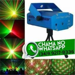 Entrega Grátis * Mini Laser Holográfico Jogo de Luz * Chame no Whats