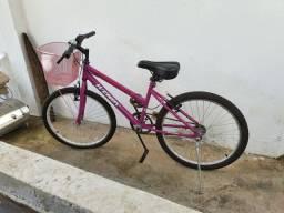 Bicicleta Wendy Rosa Aro 24 Semi Nova