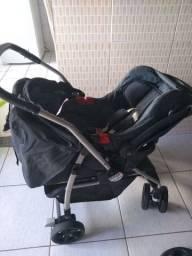 Carrinho AT6K Burigotto + Bebê Conforto