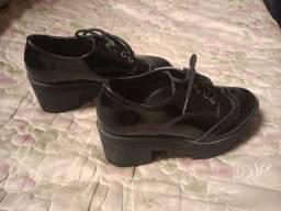 Sapato Oxford preto