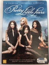 DVD original primeira temporada de Pretty Little Liars