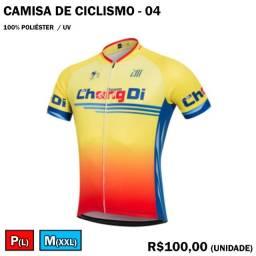 Camisa de Ciclismo Chang Di