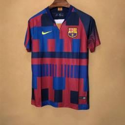 Camisa Barcelona 20 Anos