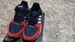 Tênis Adidas - chaos azul marinho Tam 43