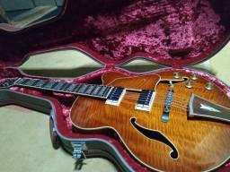 Guitarra Ibanez Semi Acústica Af86 Com hardcase De Luxo - Rara