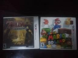 Jogos Nintendo 3DS Mario e Zelda