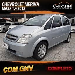 Chevrolet Meriva Maxx 1.4 2012 com GNV