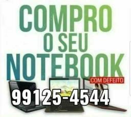 Compr@ notebook com defeito