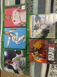 Pacote Com 5 Jogos Para Xbox One