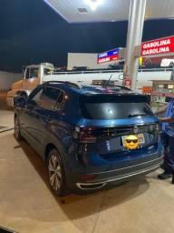 T-Cross TCross 2020 23.000km Azul Único dono