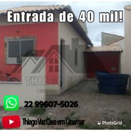 Casa de 01 quarto em Unamar!
