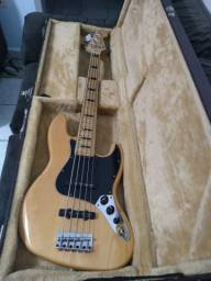 Baixo squier fender modified 5 cordas jazz Bass