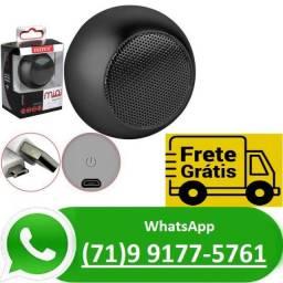 Caixa Caixinha De Som Bluetooth Bolinha Mini Speaker Top (NOVO)