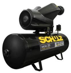 Compressor 20 pés Schulz Audaz 150 Litros 220V