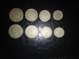 Série completa de moedas Getúlio Vargas 1938 e 1940