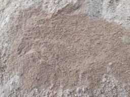 Areia fina media/grossa 75reais m3