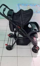 Carrinho de passeio para bebê INFANTI SHIFT preto