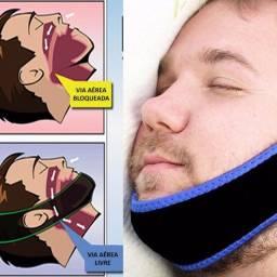 Aparelho cinta faixa anti ronco - livre do ronco e apnéia do sono