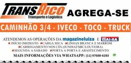 Agrega-se ( hr/vuc/truck/toco/ caminhao 3/4 ) baú