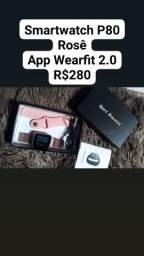 Smartwatch p80 rosê