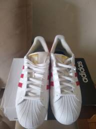 Adidas Superstar Branco Tam 44 - Original
