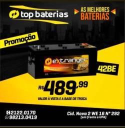 Bateria  150 ah nova