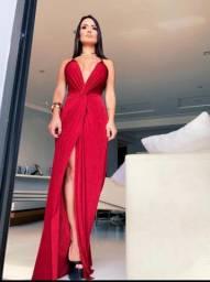 Vestido Glam vermelho